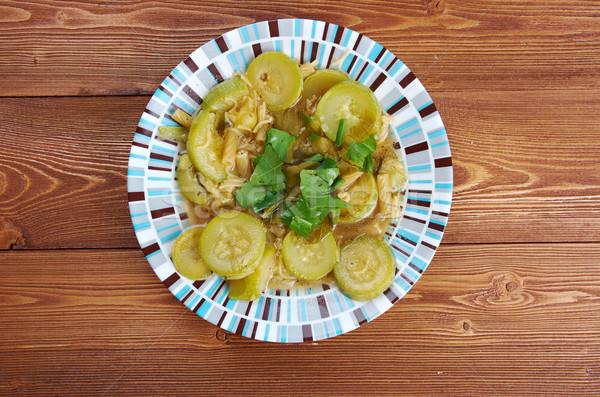 Minestra di zucchine Stock photo © fanfo