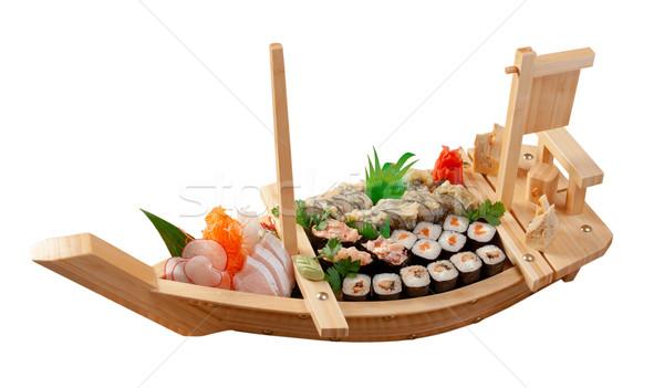 Корабль суши фото
