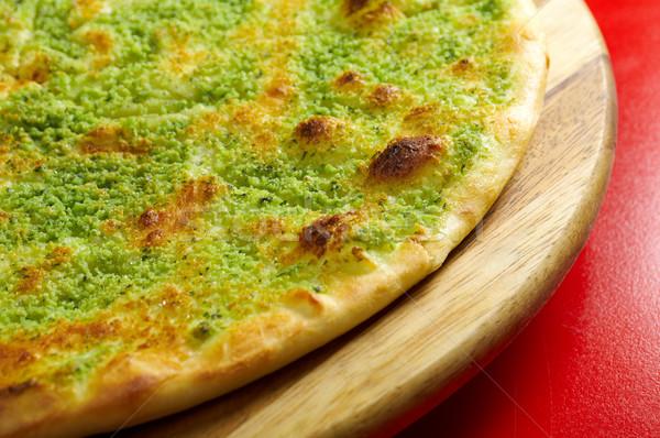 ストックフォト: ピザ · イタリア語 · キッチン · スタジオ · レストラン · チーズ