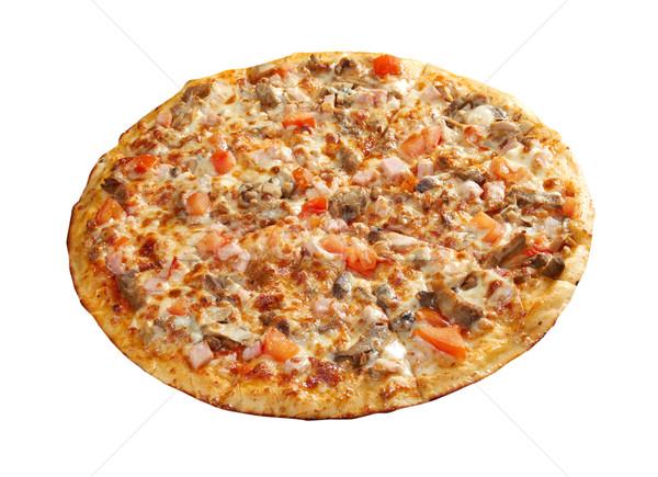 Pizza język włoski kuchnia studio restauracji Zdjęcia stock © fanfo