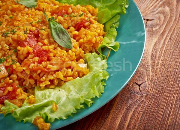 Stock photo: Sebzeli Bulgur Pilavı