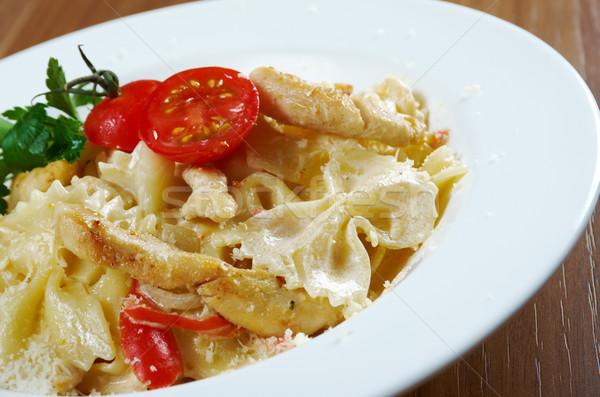 Farfalle pasta  Stock photo © fanfo