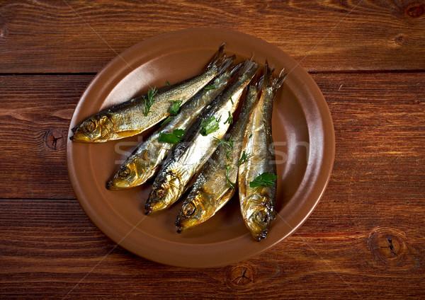 Smoked herring  Stock photo © fanfo
