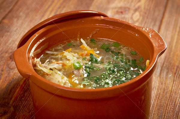 Choucroute soupe blanche chou alimentaire Photo stock © fanfo