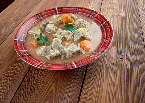 Kentucky ensopado comida jantar carne sopa Foto stock © fanfo