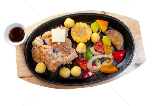 Japanese Karubi Wagyu Beef  Stock photo © fanfo