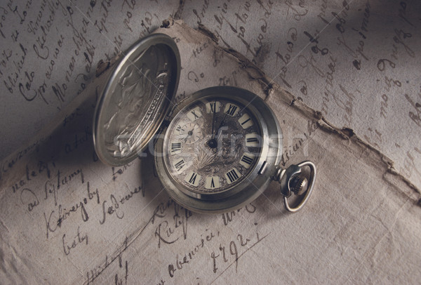 Old-time watch Stock photo © fanfo