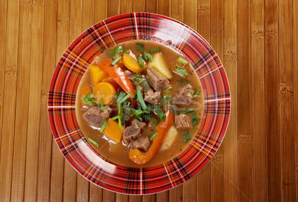 ирландский тушеное мясо ягненка мяса картофель Сток-фото © fanfo