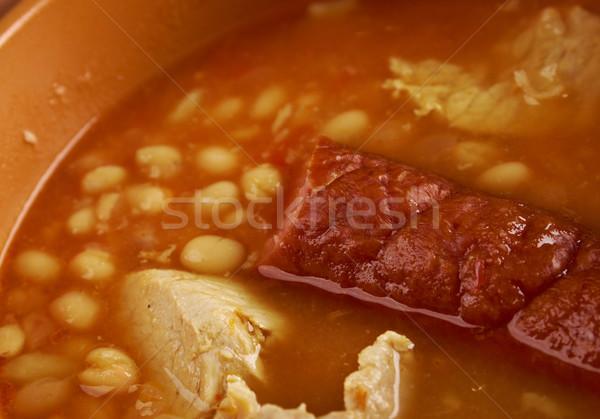 Fabada asturiana, Stock photo © fanfo