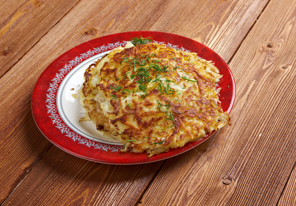 Boxty l Irish potato pancake. Stock photo © fanfo