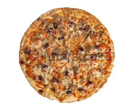 Tasty Italian pizza Pepperoni Stock photo © fanfo