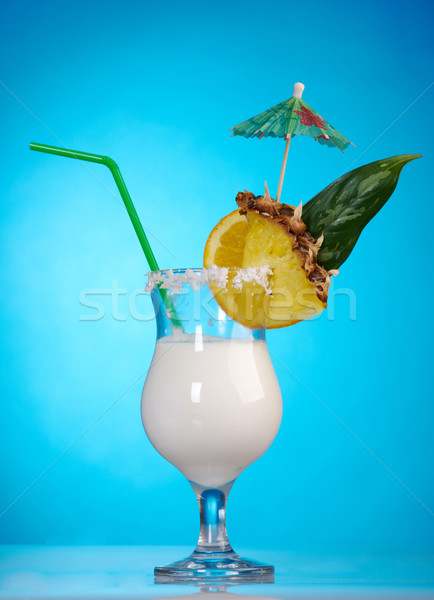 Pina Colada - Cocktail with Cream Stock photo © fanfo