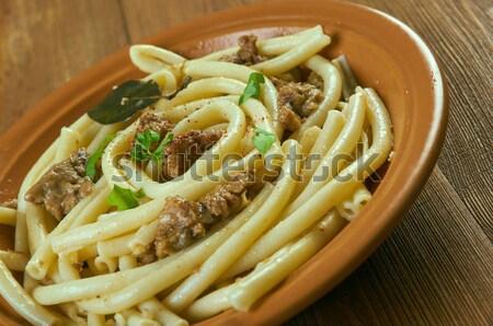 Pasta e fagioli Stock photo © fanfo