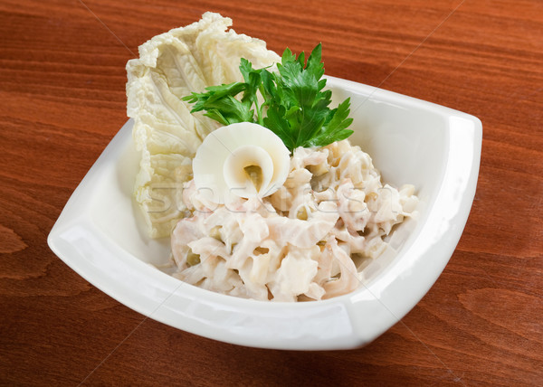 salad seafoods. Stock photo © fanfo