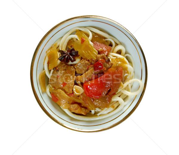 Uzbek cuisine Stock photo © fanfo