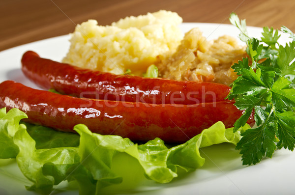 wiener sausages Stock photo © fanfo