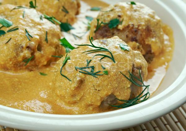 Kerrie klassiek noorden indian schotel vegetarisch Stockfoto © fanfo