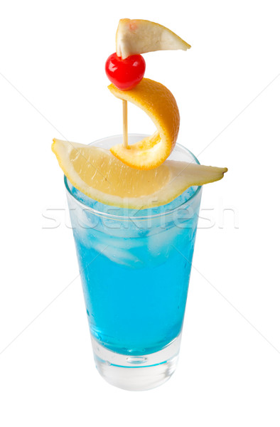 tropical cocktail -a nave. isolated  Stock photo © fanfo