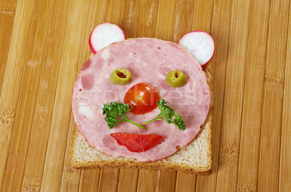 breakfast for child Stock photo © fanfo