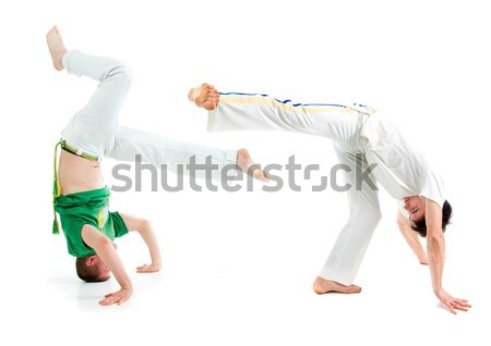 cool hip hop style dancer.breakdance Stock photo © fanfo