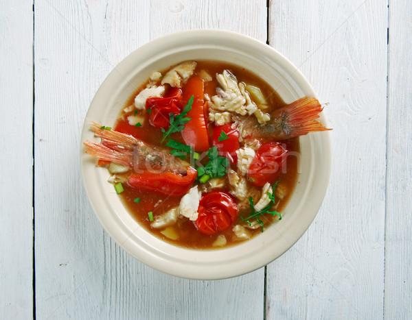 Conch America soup Stock photo © fanfo