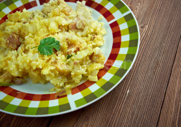 Fish and brewis Stock photo © fanfo