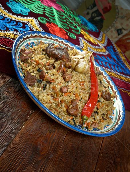 Stock fotó: Távolkeleti · konyha · központi · ázsiai · konyha · ázsiai · főzés