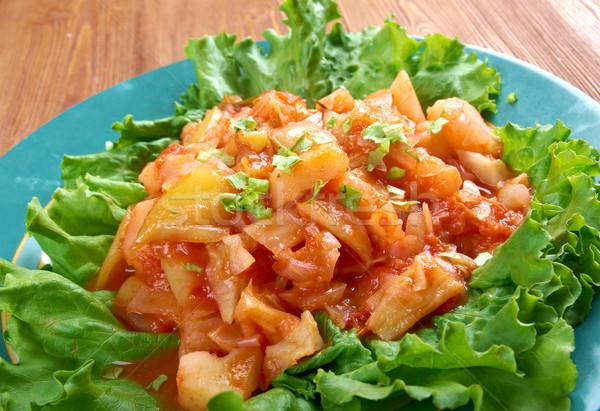 vegetable ragout Stock photo © fanfo