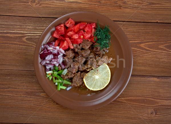 Semplificato piatto Eritrea Etiopia Sudan regione Foto d'archivio © fanfo