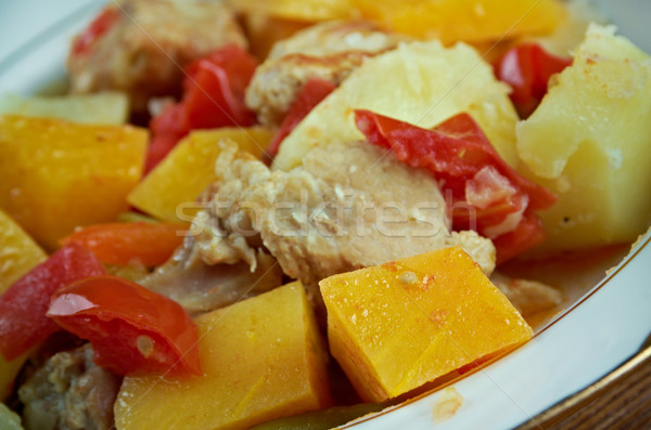 Andalusian Gypsy Stew Stock photo © fanfo