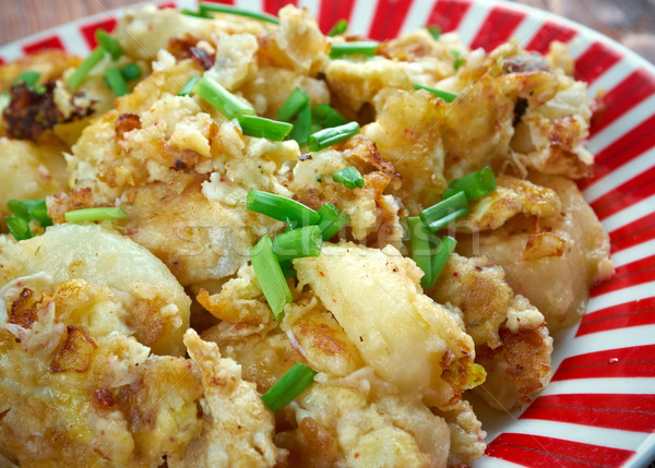 Curried Hash Brown Scramble Stock photo © fanfo
