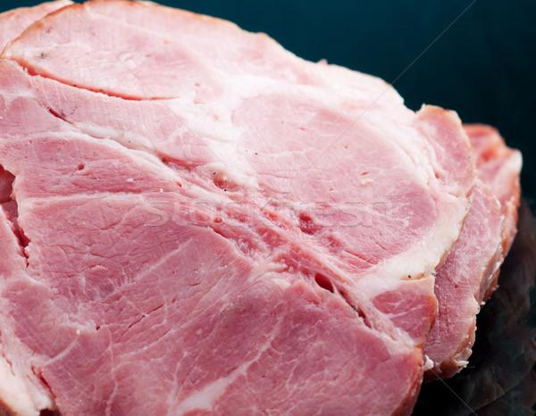 продовольствие мяса красивой зеленый Сток-фото © fanfo