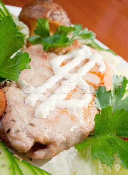 porks Roast Stock photo © fanfo