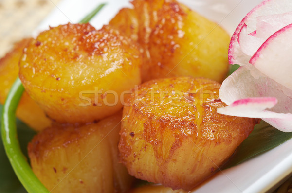 Baked scallops Stock photo © fanfo