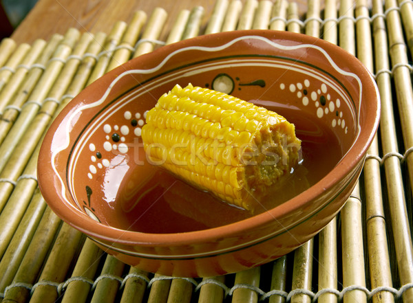 Coconut Curried Corn Stock photo © fanfo