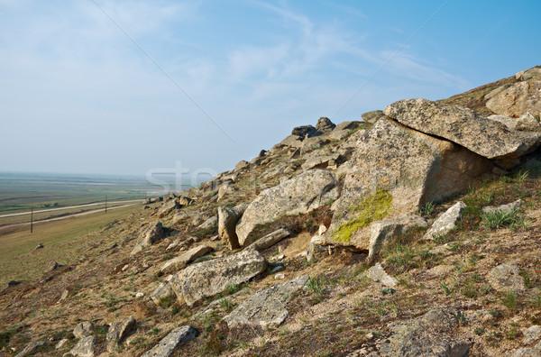 rocks at Suvo village Stock photo © fanfo