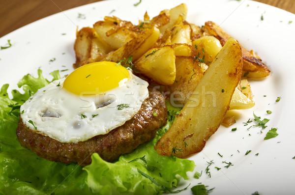 porterhouse steak Stock photo © fanfo