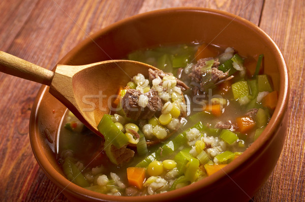 Scotch Broth Soup Stock photo © fanfo