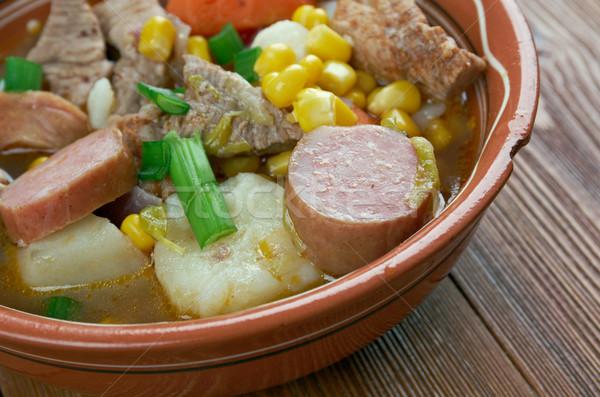 Portuguese cozido Stock photo © fanfo