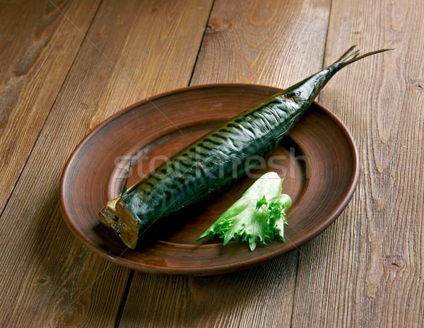 類似した 魚 ハーブ 食事 シーフード おいしい ストックフォト © fanfo