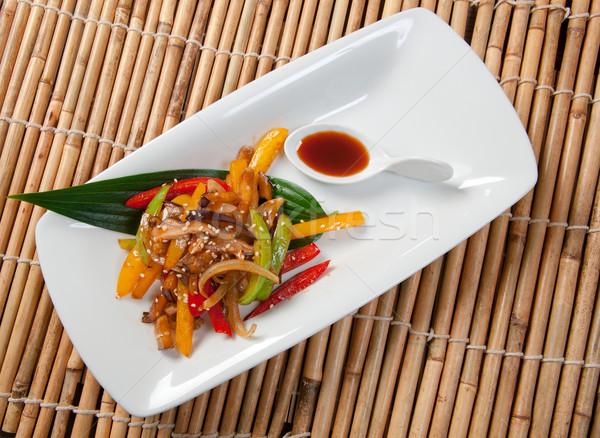 Stock photo: Japanese Stir Fried Vegetables