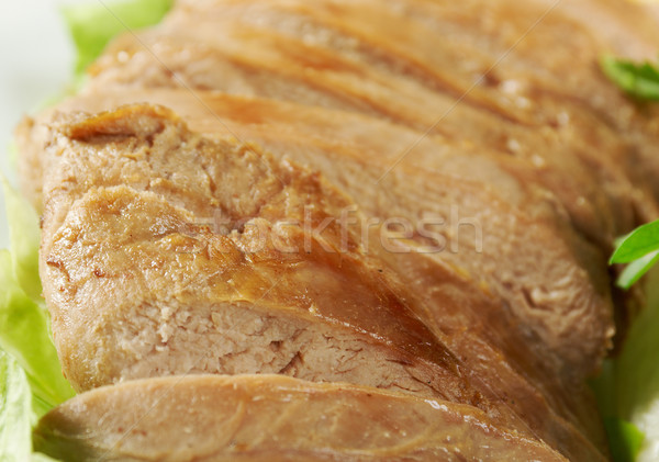 Stock photo: Roasted duck, Chinese style  .