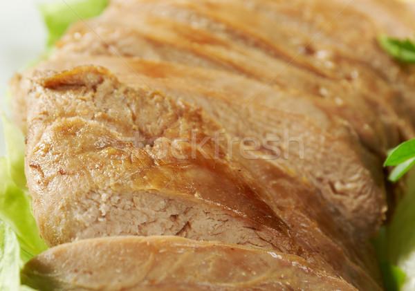 Foto stock: Pato · chino · estilo · superficial · alimentos
