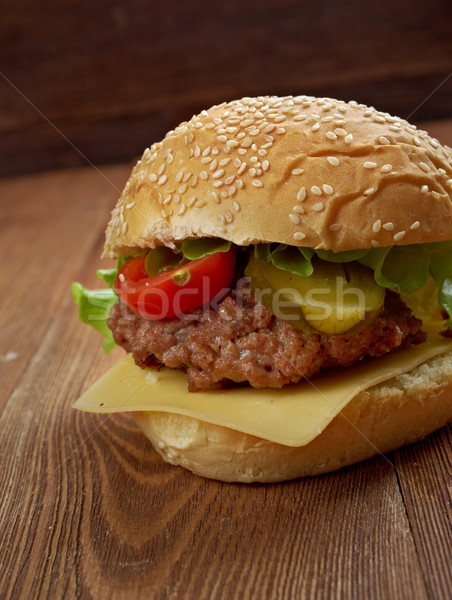 Big N' Tasty Stock photo © fanfo