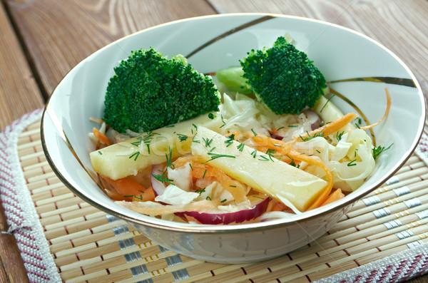 клен брокколи яблоко изменение капустный салат сироп Сток-фото © fanfo
