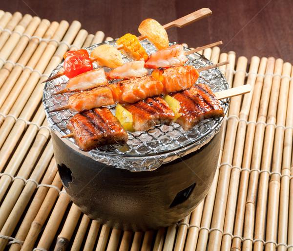 Stockfoto: Japans · groenten · achtergrond · restaurant · presentatie · asia