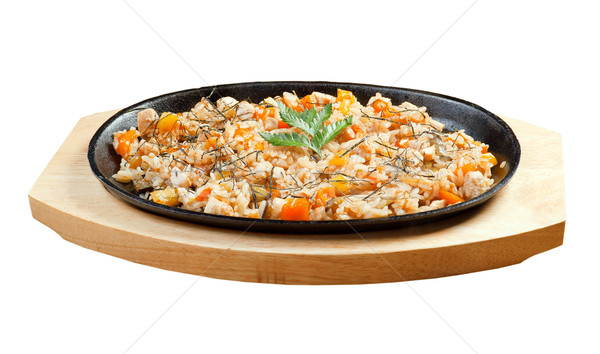 Chinese food Stock photo © fanfo