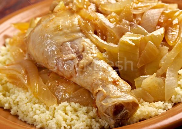 poulet yassa sénégalais Stock photo © fanfo