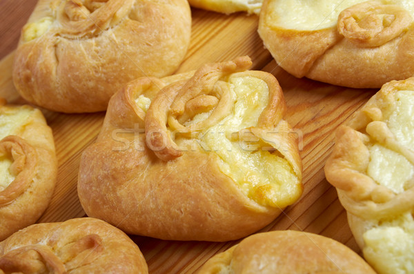 Russian pies with cheese  Stock photo © fanfo