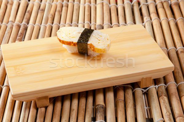 Japanese nigiri sushi Stock photo © fanfo